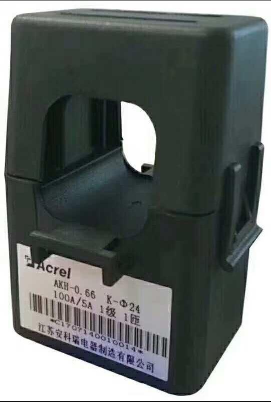 开口式电流互感器价格AKH-0.66/K-φ24-200A/40mA,分体式电流互感器