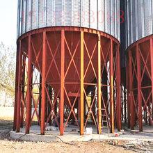 玉米粒储存仓图片-小麦储存仓-装配小麦水稻筒仓图片