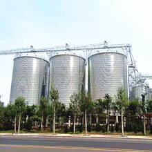 鋼板倉主要組成-鋼板倉儲糧特性-500噸鋼板倉報價圖片