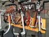 桂丰研发最新款共享自行车停车架ALAK-1