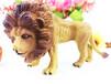 义乌搪胶玩具定制加工厂幼儿认知早教仿真动物狮子恐龙公仔模型来样订制