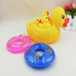 义乌泓智PVC搪胶玩具批发定制大小黄鸭子浴室戏水捏捏叫发声玩具