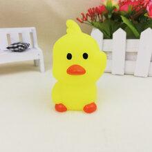 义乌泓智搪胶玩具批发定制抖音同款网红大小黄鸭子浴室戏水捏捏叫发声玩具图片