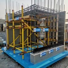 郑州施工工地样板展示区_质量样板展示区建设图片
