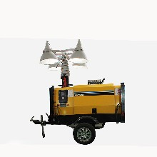 拖拉式全方位移动照明灯塔应急移动照明?#20302;?#29255;