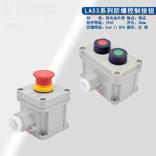 LA53-1防爆急停控制按鈕開關/旋轉式自鎖按鈕盒防水防塵急停開關圖片