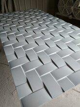 装修设计公司必备现代新型装饰板波浪板雕花隔断板上海厂家专业定制