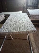 专业定制密度板加工造型板立体波浪板图片