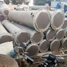無錫二手不銹鋼列管冷凝器圖片,二手不銹鋼列管冷凝器