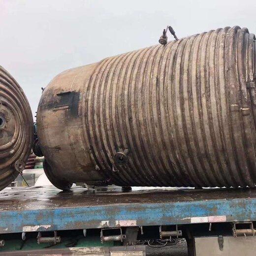 泰州二手5噸搪瓷反應釜,二手不銹鋼反應釜