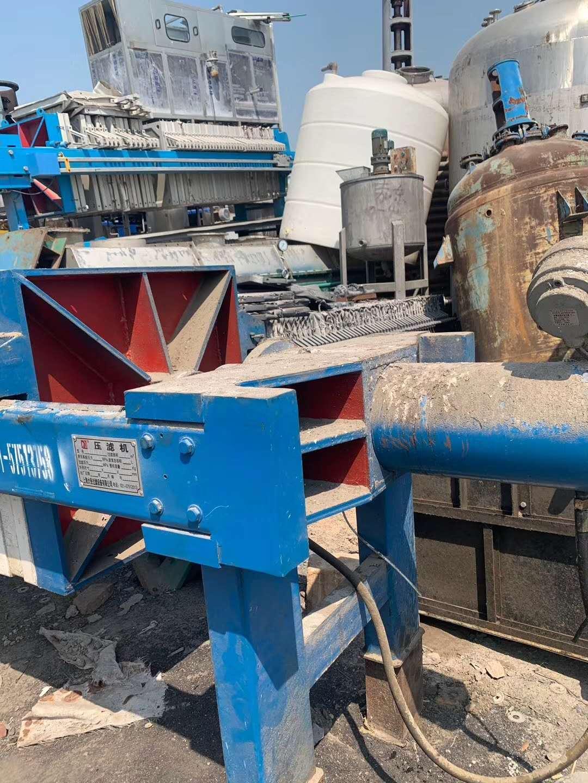 无锡二手污泥压滤机厂家,二手厢式压滤机