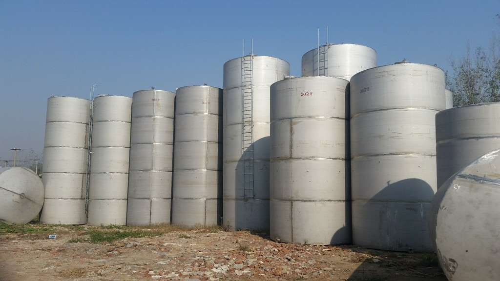 德州二手不锈钢储罐公司,二手不锈钢储罐