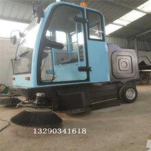 五刷驾驶室扫地车哪个厂子的产品好扫吸结合载人电动扫路车厂家直销