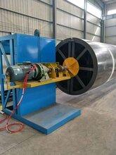 加工定制玻璃钢电缆保护管生产线缠绕机缠绕机连续缠绕机图片