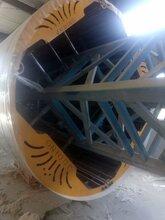 厂家设计玻璃钢缠绕机内加强筋带筋缠绕机一体成型模具机械图片