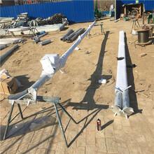 三角立桿機生產銷售廠家鋁合金三角抱桿圖片
