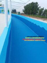 水上儿童乐园刷漆包工包料_环保漂流河地坪_漂流河地坪施工图片