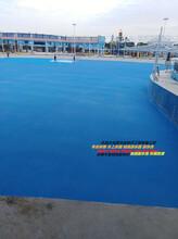 广州水乐园地面翻新多少一方?水上乐园游泳池刷漆水性涂料游乐园地坪图片