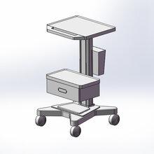 小型醫療設備推車心電圖推車呼吸機推車廠家