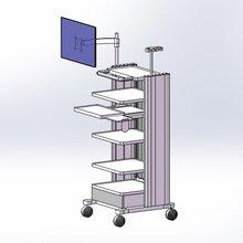 醫療推車多功能內窺鏡推車腹腔鏡設備臺車廠家定制
