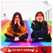 抖音网红彩虹滑道收费模式旱雪七彩滑道彩虹滑梯无动力游乐项目