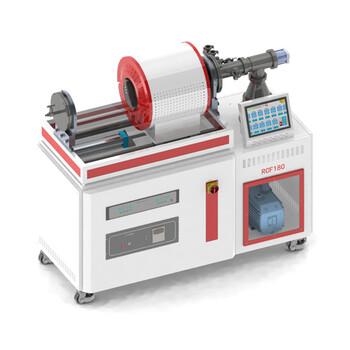 上海微行RCF180鎳鈦絲真空熱定型爐、外周支架真空熱處理爐