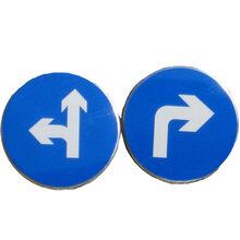 铝反光标牌定做电力标识牌安全标示警示牌杆号相序牌不锈钢标志牌