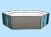 工厂定制六边形显热交换器余温能量回收通风换气降温排湿