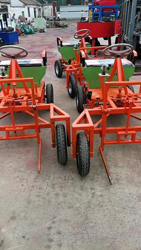 小型电动叉砖车