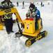體驗型游樂項目兒童挖掘機仿真挖掘機游樂挖掘機