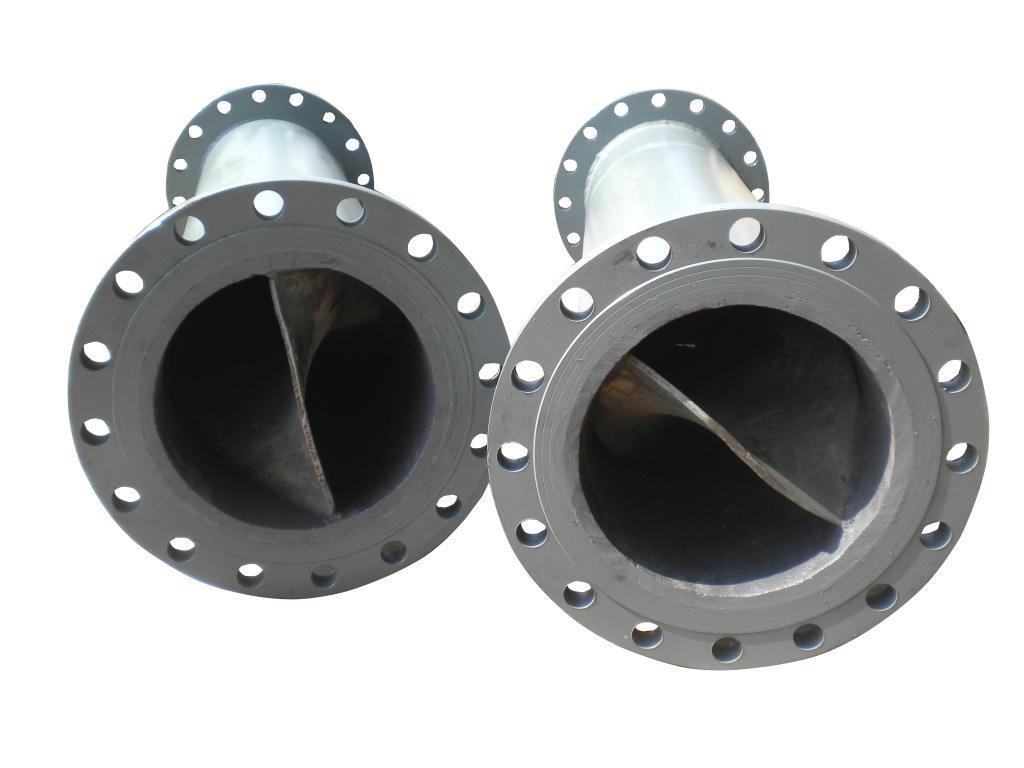 益海环保管道混合器碳钢不锈钢静态管道混合器厂家定制直销