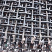 煤矿轧花网4-8MM矿筛轧花网来样定制图片