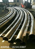 合川65数控圆管弯拱机钢结构圆管滚弯机设备