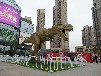 北京出租大型户外暖场互动道具租赁仿真恐龙高逼格仿真恐龙