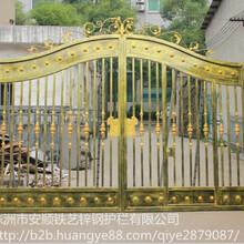 供应湖南庭院门厂家庭院门十_株洲别墅庭院门设计图片