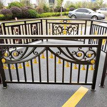 长株潭铝艺栏杆制作、别墅铝艺阳台栏杆安装图片