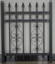 長沙鐵藝圍欄型材廠家,鐵藝柵欄圖片