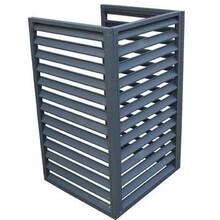 安順護欄空調格柵,空調鋁合金百葉窗圖片