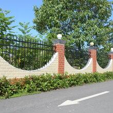 株洲围墙护栏厂,厂区围墙护栏厂家、锌钢围墙护栏批发价格