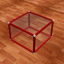 武漢智盛玻璃罩子圖片