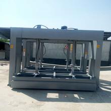 冷压机木工压机木工机械全自动50t家具木工冷压机泡沫液压压板机图片