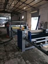 密度板贴纸机PVC覆膜机木纹纸贴面机木工机械密度板双面贴面机图片