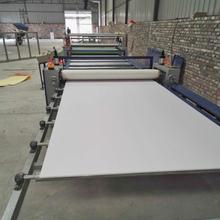 多功能密度板家具门板双面贴纸机自动除尘涂胶木工机械贴面机价格图片