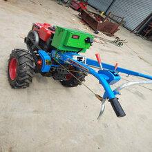 农用手扶耕田土拖拉机两轮旋耕犁地拖拉机价格小型耕犁地起垄机