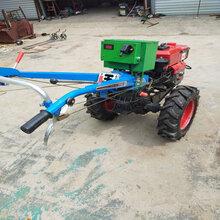 电启动手扶拖拉机价格手扶旋耕机厂家直销多功能农用手扶拖拉机