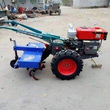 电启动手扶果园开沟施肥机手扶拖拉机起垄机农用开荒旋耕除草机