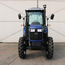 高配置东方红强动力拖拉机价格农用水旱两用高花胎四驱拖拉机打田机厂家