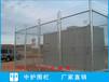 深圳电站带刺绳白色隔离金属网护栏批发铁路镀锌铁丝网围栏