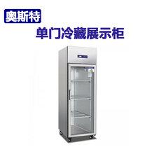 奥斯特冷藏展示柜TS0.5G单玻璃门冷藏冰箱饮料展示柜单门陈列柜