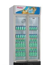 海尔立式展示柜SC-450G海尔双门冷藏饮料柜保鲜柜陈列柜超市酒店连锁商用图片